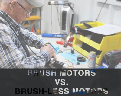 Brush Motors VS. Brush-less Motors