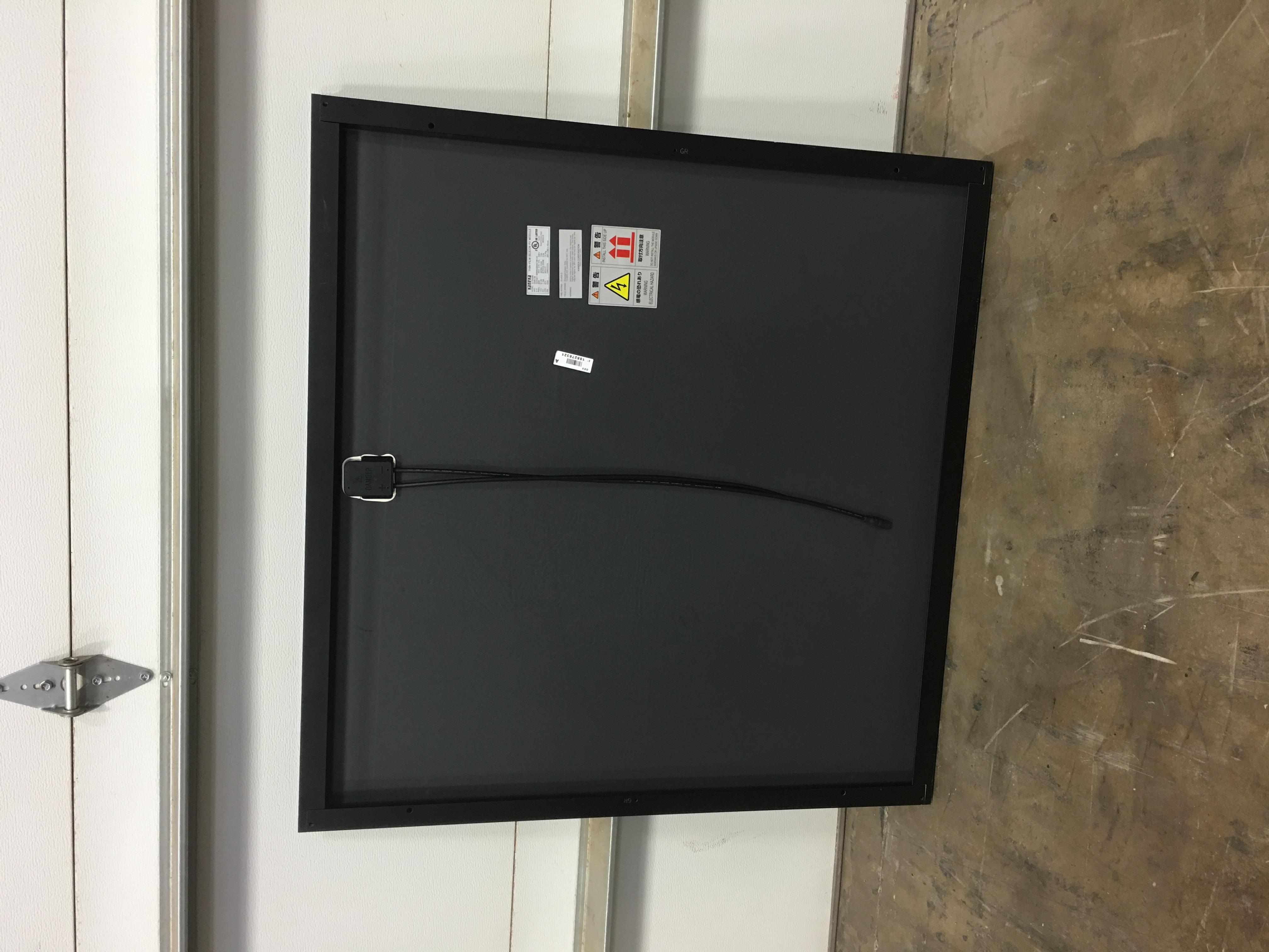 60W/90V Solar Panel by Kaneka